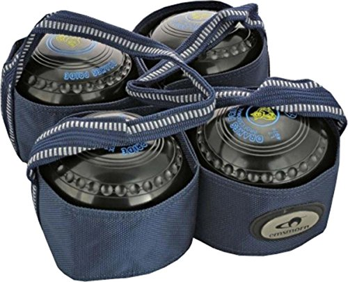Carta Sport Outdoor Lawn Bowls Carry Bag - 4 Bowls Harness / Carrier from Carta Sport