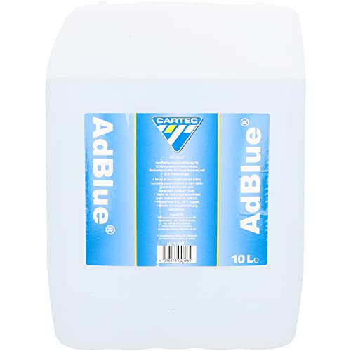 Cartec 99231 AdBlue Urea for Exhaust Aftertreatment - white from Cartec