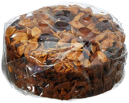 Cartwright & Butler Cherry and Almond Decorated Fruit Cake Round 600 g from Cartwright & Butler