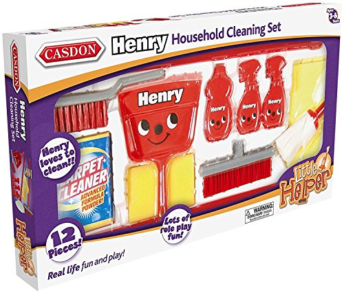 "Casdon 720 ""Henry Housekeeping Toy Set from Casdon"