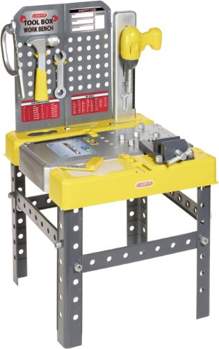 Casdon 644 Tool Box Workbench, Yellow from Casdon