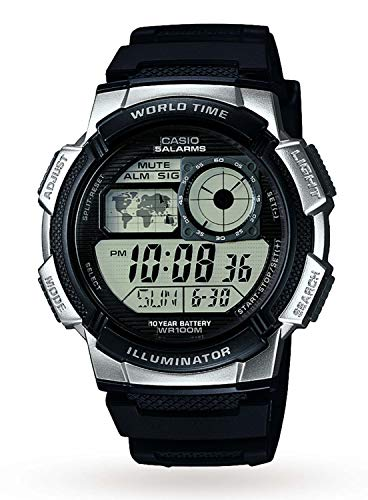 064b947e8abc Casio Men s Digital Watch with Resin Strap AE-1000W-1A2VEF from Casio