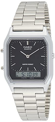 Casio Collection AQ-230A-1DMQYES Mens Watch, Black from Casio