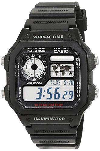 Casio Collection Men's Watch AE-1200WH-1AVEF from Casio