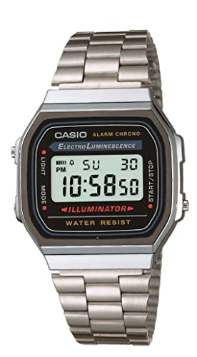 Casio Collection Unisex Adults Watch A168WA-1YES from Casio