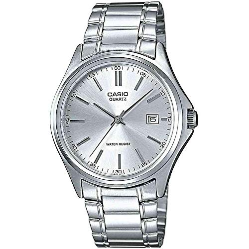 Casio Men's Analogue Quartz Watch with Stainless Steel Bracelet MTP-1183PA-7A from Casio