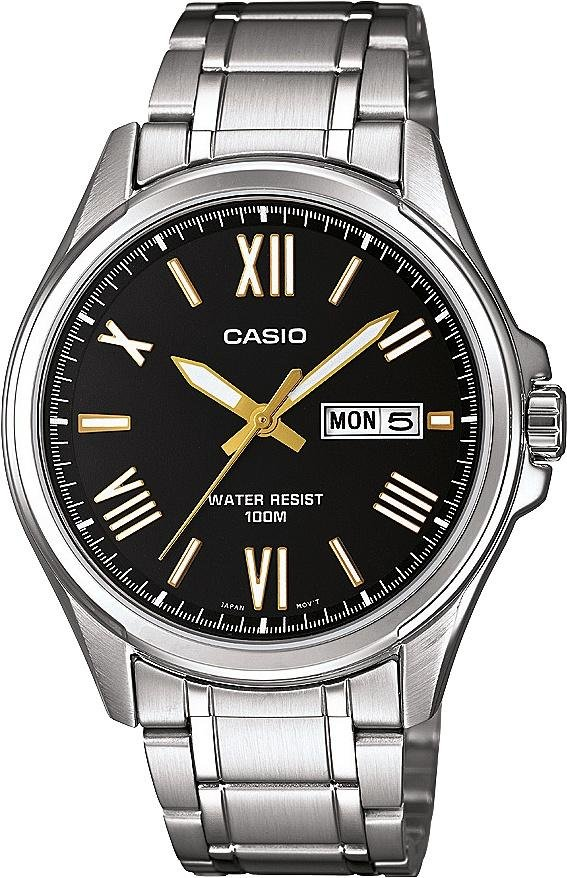 Casio - Mens Classic Day and Date Bracelet - Watch from Casio