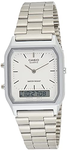 Casio Collection AQ-230A-7DMQYES Mens Watch, Off-White from Casio