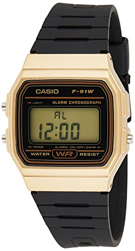 Casio Collection Unisex Adults Watch F-91WM-9AEF from Casio