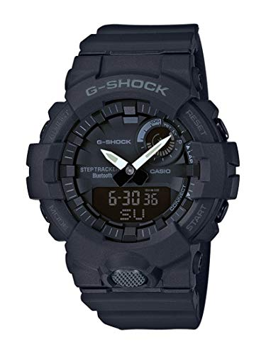 CASIO Mens Analogue-Digital Quartz Watch with Resin Strap GBA-800-1AER from Casio