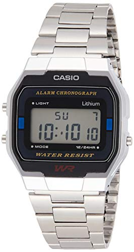 Casio Collection Unisex Adults Watch A163WA-1QES from Casio