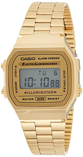 Casio Collection Unisex Adults Watch A168WG-9EF from Casio