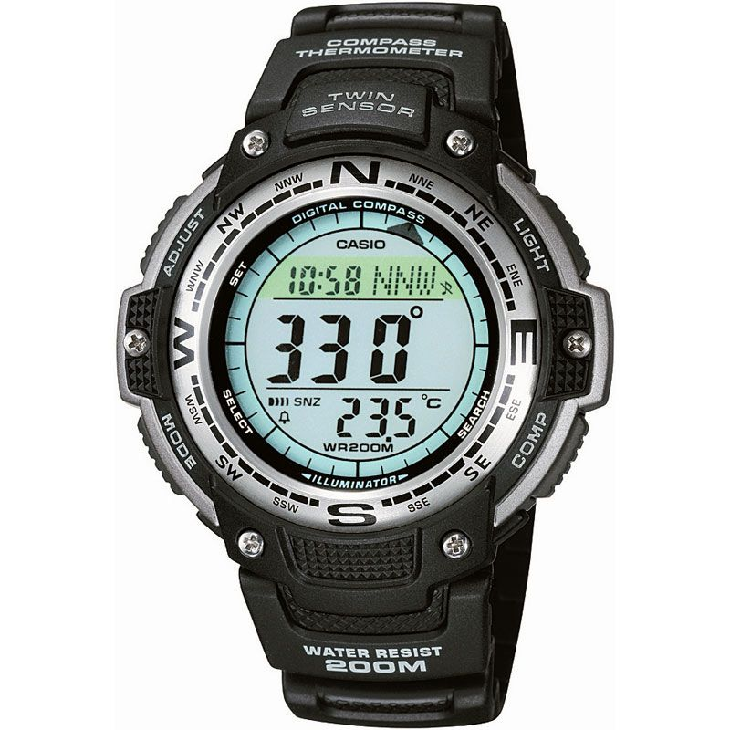 Mens Casio Pro Trek Alarm Chronograph Watch from Casio