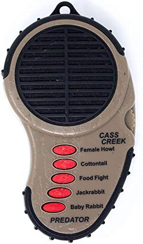 Cass Creek - Ergo Call - Predator Call - CC010 - Handheld Electronic Game Call - Coyote Hunting from Cass Creek