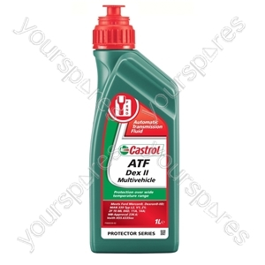 ATF Dex II Multivehicle - 1 Litre from Castrol