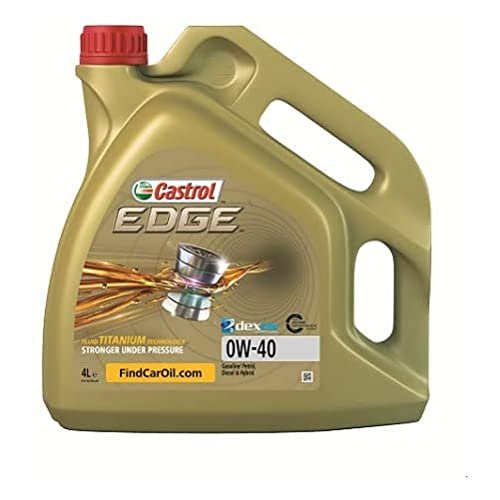 Castrol EDGE 0W-40 A3/B4 Engine Oil, 4L from Castrol