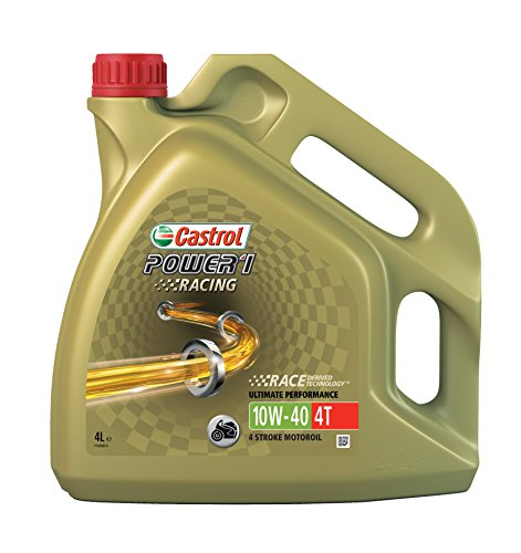 Castrol Power 1 Racing Engine Oil 10W-40 4T, 4L from Castrol
