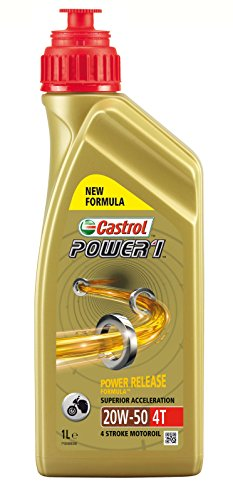 Castrol Synthetic Power 1 4T SAE 20W-50 Engine Oil, 1L from Castrol