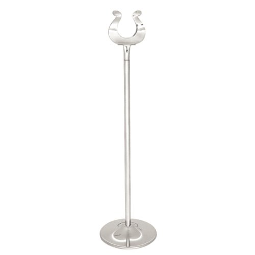 Table Number Stand 12In 305mm Stainless Steel Restaurant Wedding Card Holder from Olympia