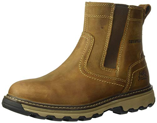 68a64f7bdf95 Caterpillar CAT Pelton Brown Steel Toe Cap Safety S1P SRC Chelsea Dealer  Boots from Caterpillar. found at Amazon Marketplace
