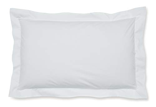 Catherine Lansfield Easy Iron Percale Oxford Pillowcase Pair White from Catherine Lansfield