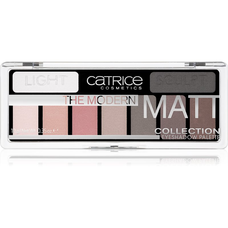 Catrice The Modern Matt Collection Eyeshadow Palette Shade 010 The Must-Have Matts 10 g from Catrice