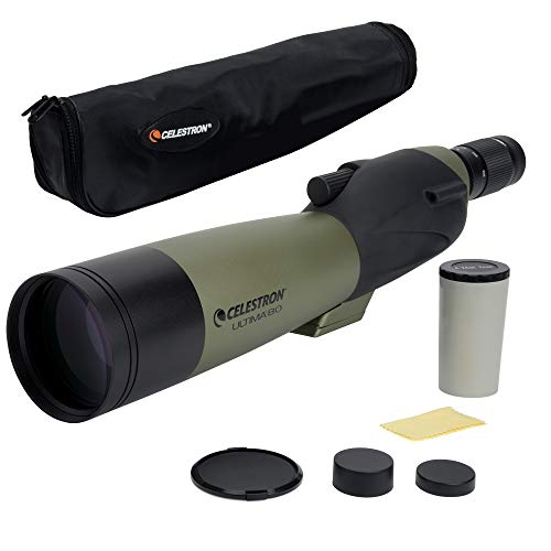 Celestron 52254 80 mm Ultima Spotting Scope Straight from Celestron