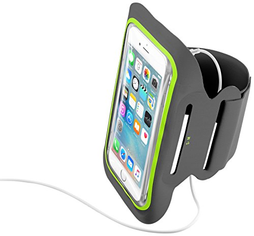 cellularline ARMBANDFIT52K Fitness Armband for Smartphones Upto 5.2-Inch from cellularline