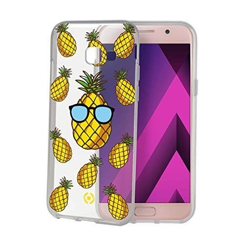 Celly Cover 645TEEN01 Pineapple Back Cover for Samsung Galaxy A5 2017 Mix from Celly