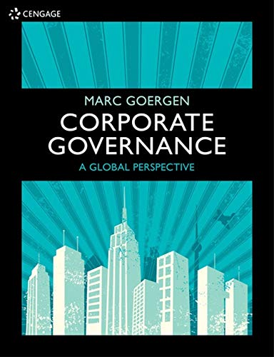 Corporate Governance: A Global Perspective from Cengage Learning EMEA