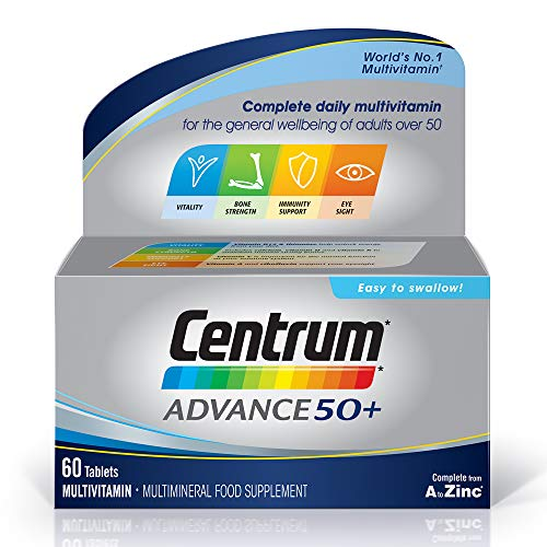 Centrum Advance 50 Plus Multivitamin Tablets, Pack of 60 from Centrum