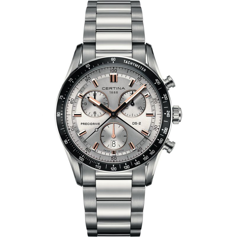 Mens Certina DS-2 Precidrive Chronograph Watch from Certina