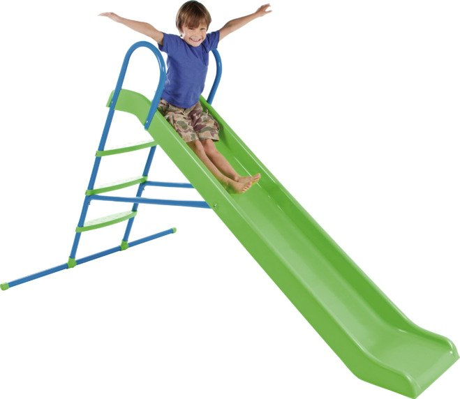 Chad Valley - 7ft Straight Slide - Green from Chad Valley