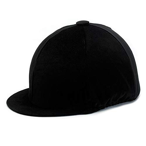 537-0032 Velvet Hat Covers (Black, Large) from Champion