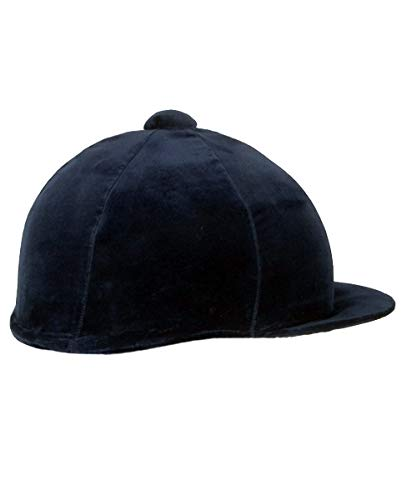 537-0032 Velvet Hat Covers (Navy, Medium) from Champion