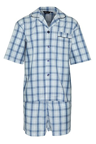 Mens Champion Summer Cotton Short Pyjamas Sleepwear Nightwear 3156 (Navy) 2XL from Champion