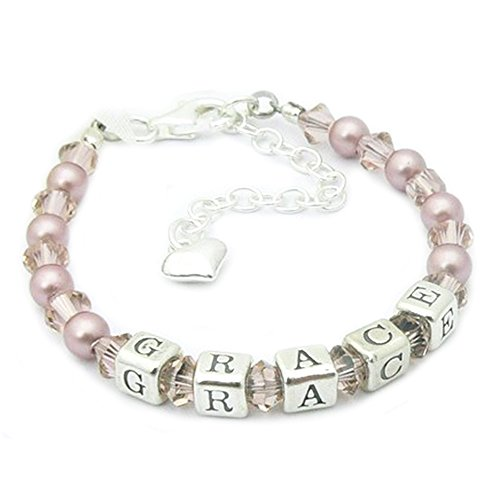 Naming Day Gift Bracelet - Holy Communion Gift from Charms and Occasions Ltd