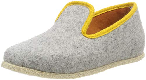 Chausse Mouton Unisex Adults' Chaussee Mouton Chancenie Hi-Top Slippers, Grau 4400160, 10 9.5 UK from Chausse Mouton