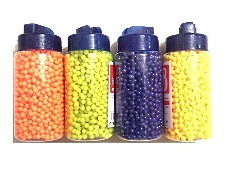 1 x 2000bb 6mm BB Gun Pellets Airsoft Bullets YELLOW from CheapAirsoftUK