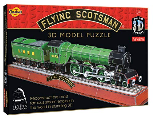 Cheatwell Games 3D Puzzle Flying Scotsman from Cheatwell Games