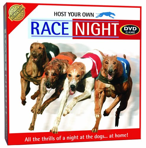 Host Your Own Dog Racing Night DVD Game from Cheatwell Games