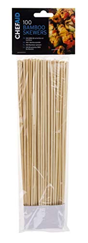 Bamboo Skewers 25.5cm Pack of 100 from Chef Aid