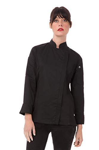Small White Chef Works A599-S Metz Chef Jacket