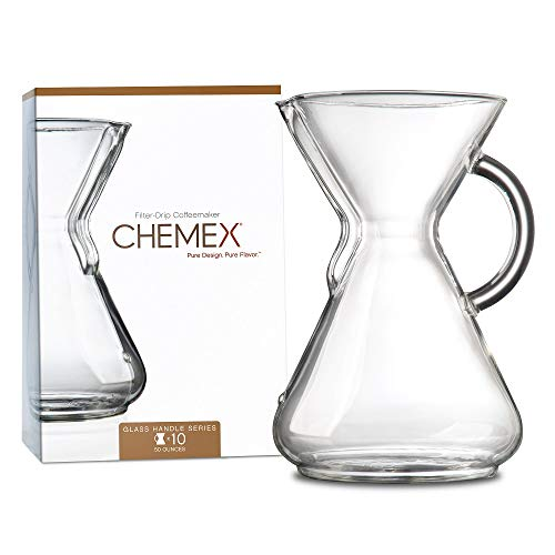 Chemex 10-Cup Coffee Maker with Glass Handle from Chemex