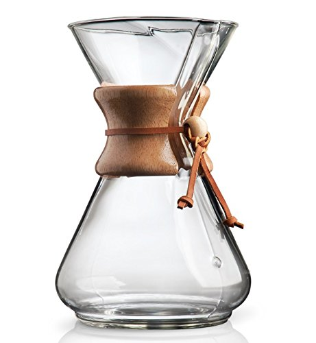 Chemex 10-Cup Wood Neck Coffee Maker from Chemex