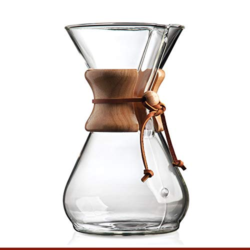 Chemex 8-Cup Wood Neck Coffee Maker from Chemex