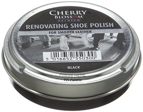 Cherry Blossom Premium Renovating Shoe Treatments and Polishes PCREN01 Black 50.00 ml from Cherry Blossom Premium