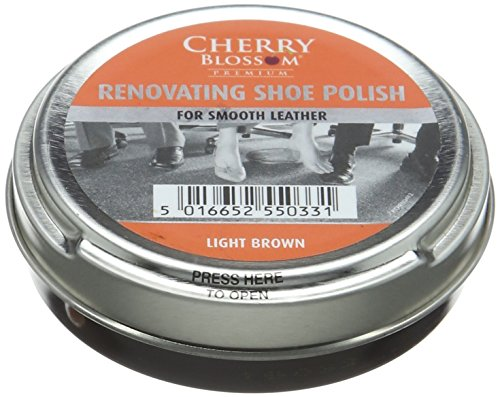 Cherry Blossom Premium Renovating Shoe Treatments and Polishes PCREN04 Light Brown 50.00 ml from Cherry Blossom Premium