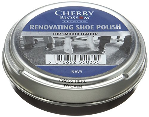Cherry Blossom Premium Renovating Shoe Treatments and Polishes PCREN06 Navy 50.00 ml from Cherry Blossom Premium