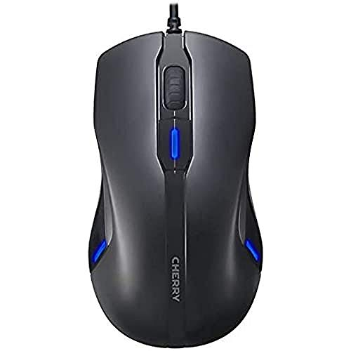 CHERRY MC 4000 5 Button USB Optical Mouse - Black from Cherry